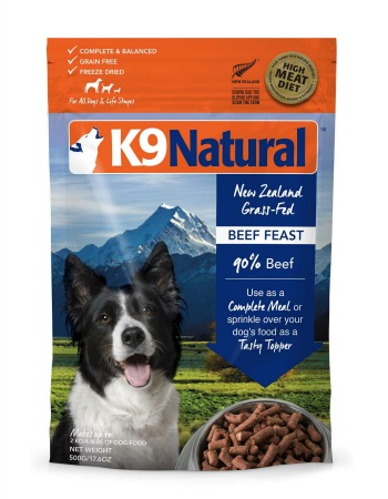 K9 Natural Beef-Feast-500g